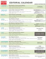 Maritime Reporter Editorial Calendar
