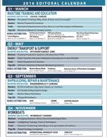 Maritime Professional Editorial Calendar